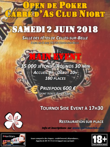 Affiche Open CAC 2018